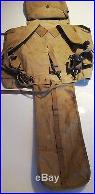 Havresac us M 1910 avec pelle en T daté 1942 (original) en TTBE