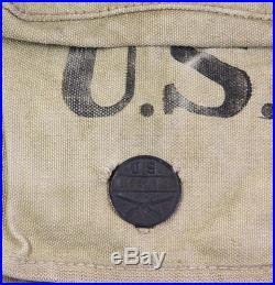 Havresack US 1918 US WW1 (matériel original)