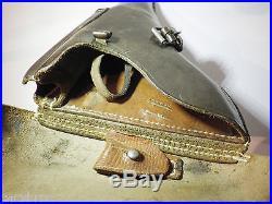 Holster étui pistolet Allemand Luger P 08 daté 1941 militaire WW II guerre 39-45