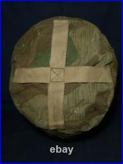 Housse de camouflage pour casque de parachutiste FJ allemand ww2. Taille 68
