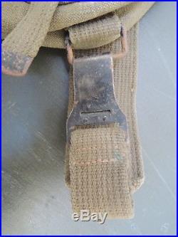 Indochine Indo Musette Tap Modèle 1950 Parachutiste Para Légion Étrangère