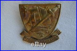 Insigne 1° bataillon Fusiliers Marins Commandos KIEFFER numéroté