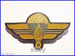 Insigne 1re compagnie parachutiste garde extrême orient local indochine 39-45