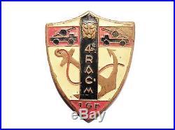 Insigne 4è RACM 1er G artillerie coloniale marine extrême orient indochine 39-45