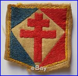 Insigne FNFL Forces Navales Françaises Libres FFL Veste Béret Marine et Commando