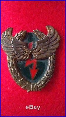 Insigne Parachutiste 13 Rdp Brevet Radio Fraisse