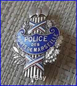 Insigne Vichy Occupation Police Des Ports De Marseille Rare Patate gendarmerie