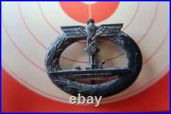 Insigne allemand kriegsmarine WW2 U-BOOT U-BOAT à nettoyer pas casque kepi
