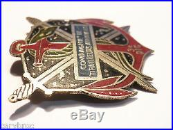 Insigne militaire tirailleurs Annamites 3è DIC orient coloniale indochine 39-45
