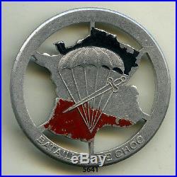 Insigne parachutiste, 1 Bon. De CHOC (alu peint)