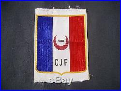Insigne tissu chantiers de jeunesse N°108 basé à bir-el-bey tunisie 100%original