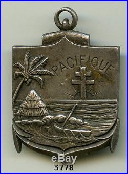Insigne troupes coloniales, Bon. Du PACIFIQUE (FFL.)