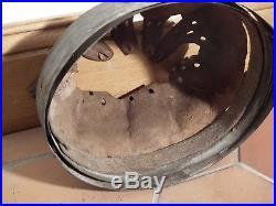 Intérieur cuir cerclage casque allemand WH originale WWII