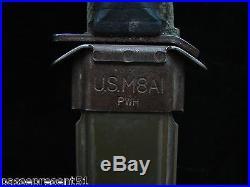 Joli ancien poignard US 1943