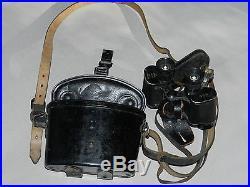 Jumelle allemande 630 avec boitier et sangles ww2 1944