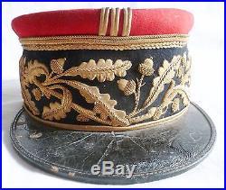 Képi Brode Wwii Général De Brigade France 1932 Original Nominatif Uniforme 1940