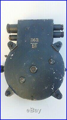 Kriegsmarine donneur d'orde Ship Telegraph Engine Order U-Boot Bordinstrument