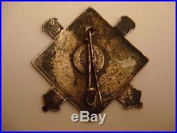 Lot Insigne Rare Artillerie Lourde 115 Ral Montagne Skieur Ses Ww2 French Badge