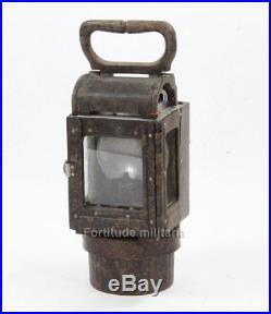 Lanterne de campagne Allemande WW2 (matériel original)