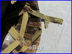 Liner Parachutiste Us Camouflé D Day 82 Eme Airborne Original 1944