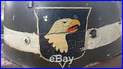 Liner US casque para 101st airborne WW2