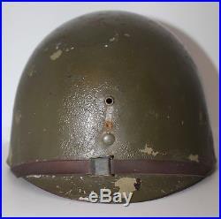 Liner sous casque américain 130e régiment dinfanterie 44e DI WW2 US helmet WWII