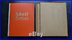 Livre d'époque vignettes Adolf Hitler complet + chemise carton