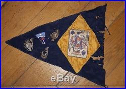 Lot Insigne Chasseur Alpin Fanion BCA 1940