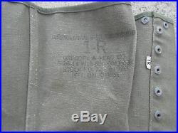 Lot Relic divers Musette US Veste HBT Guetres etc. Americain 100 % WW2