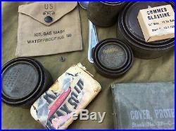 Lot de militaria US ARMY WW2 25 objets