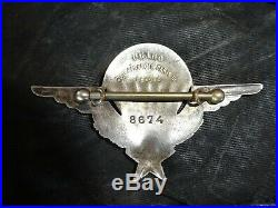 Lot parachutiste brevet de 1947