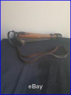 Luger p08 artillery holster etui ww1 ww2 complet tout original et authentique