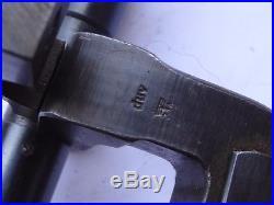 Lunette ZF 41 WWII d origine incomplete manque la molette de réglage