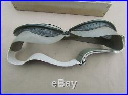 Lunettes De Pilote Allemand De La Luftwaffe Windschutbrille 295 Ww2 Original