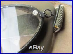 Lunettes De Pilote Allemand De La Luftwaffe Wwii 295 Windschutbrille Ww2