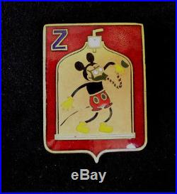 Mickey Walt Disney Artillerie Compagnie Z