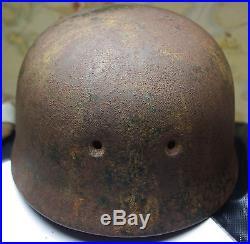 Militaria, WW2, Allemand, FALLSCHIRMJAGER, parachutiste, casque, helmet