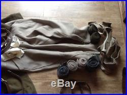 Militaria uniforme 39 45, kepi vareuse artillerie