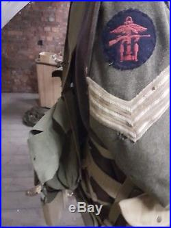 Militatia Mannequin Anglais Ww2 avec equipements