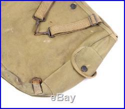 Musette US M36 -VAREY SHEA 1942- WW2 (matériel original)