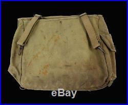 Musette US M36 en toile caoutchoutée, WW2 1943 (matériel original)
