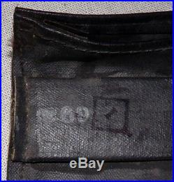 Musette caoutchoutée de masque à gaz dassaut M7 (premier type) D-Day US WW2 USA