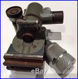 Optique MGZ34 pour MG34 superbe 1944 1945 dans son jus Busch Rathenow précoce