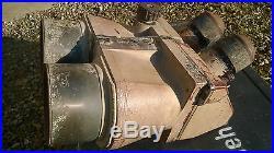 Optique allemand WW2 FLAK 10X80 jaune sable no casque