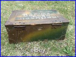 Original caisse camouflée 3 tons allemande 1936 ww2! Jus grenier