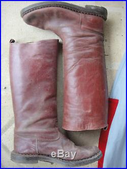 Pantalon Flottard Serrouel Spahis Avec Bottes Rouge