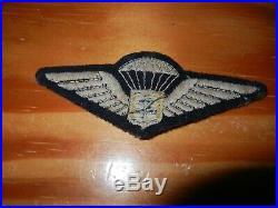 PARAS 1944 1945 BREVET PARACHUTISTE des FORCES FRANCAISES LIBRES