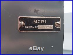 POSTE RADIO RECEPTEUR MCR1 BISCUIT SOE SAS BCRA JEDBURGH FFI WW2 MILITARIA