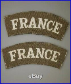 Paire Title Imprime France Libre FFL Libe Para RCP