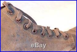 Paire de brodequins (modèle avec bout rapporté) US WW2 USA américain